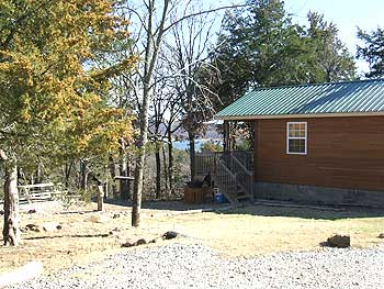 Lake view cabins Lake Keystone Oklahoma